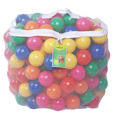 Click N Play Phthalate Free BPA Free Crush Proof Plastic Ball