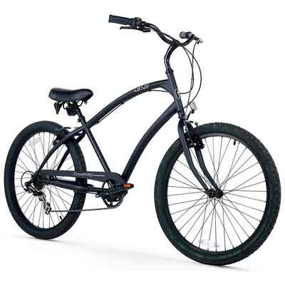 Firmstrong Men's CA-520 Alloy Beach Cruiser Bicycle