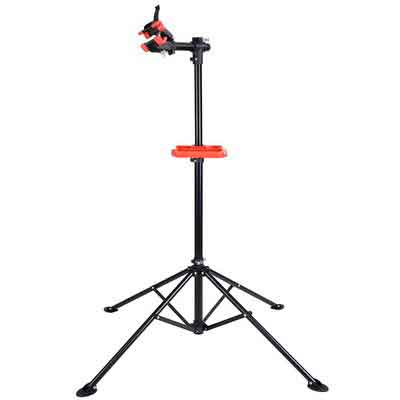 Adjustable Repair Stand w/ Telescopic Arm Cycle Bicycle Rack 42