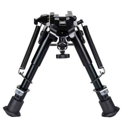 CVLIFE 6-9 Inches Rifle Bipod Quick Release Adapter Included for Hunting and shooting