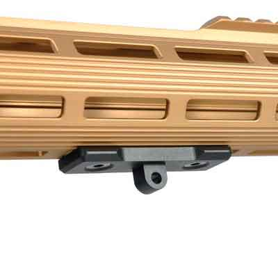 TuFok M-Lok Bipod Mount Adapter - Tactical AR15 Bipod Adaptor fits mlok Rail