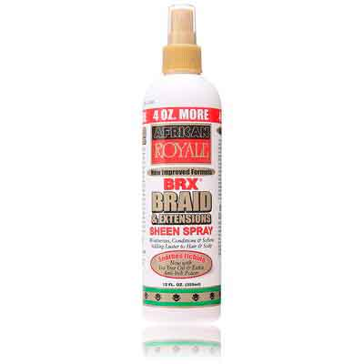 BB African Royale BRX Braid and Extensions Sheen Spray