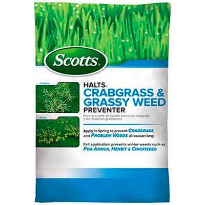 Scotts Halts Crabgrass & Grassy Weed Preventer