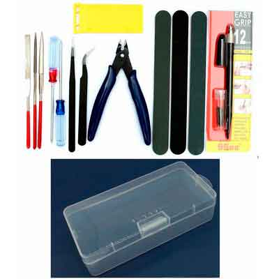 Gundam Modeler Basic Tools Craft Set For Car Model Assemble Building Kit by Alemon