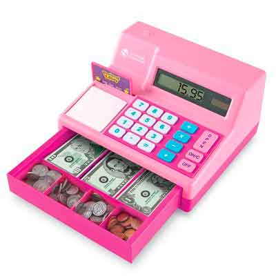 Learning Resources Pretend & Play Cash Register