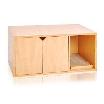 Way Basics Eco Friendly Cat Litter Box