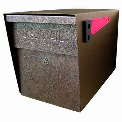 Mail Boss 7108 Curbside Security Locking Mailbox