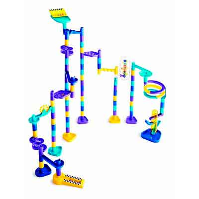 Marbleworks Marble Run Ultra Deluxe Set by Discovery Toys
