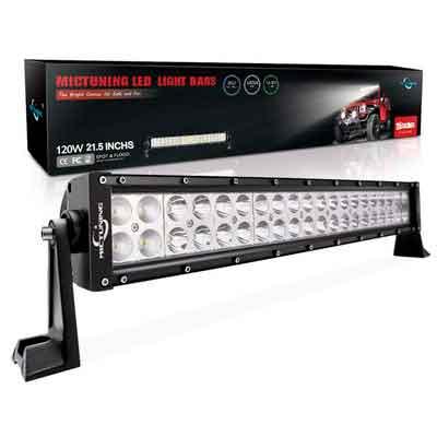 MICTUNING 21.5 Inch 120W Combo Led Light Bar - 8000 Lumen