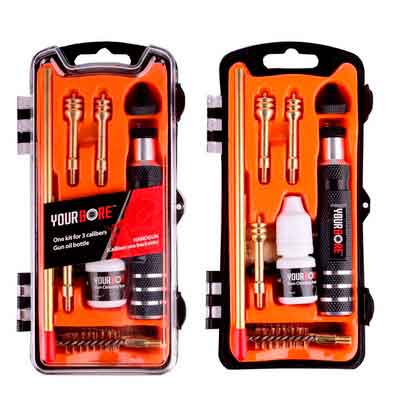 SHAREWIN Pistol Cleaning Kit of.357/.38cal