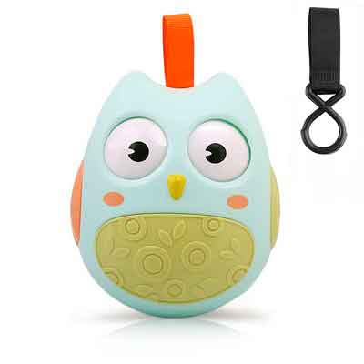 Owl Toy GUHEE Baby Infant Newborn Toys Rattle Car Seat Stroller Toys Roly-Poly Educational Toys Boys...