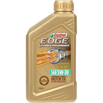 Castrol 06243 EDGE Extended Performance 5W-30 Advanced Full Synthetic Motor Oil