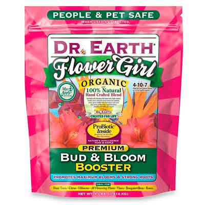 Dr. Earth 707P Organic 8 Bud & Bloom Fertilizer in Poly Bag