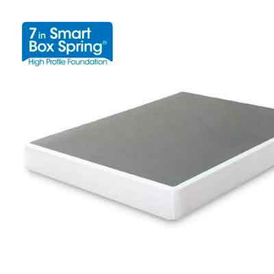 Zinus 7 Inch Smart Box Spring / Mattress Foundation / Strong Steel structure / Easy assembly required