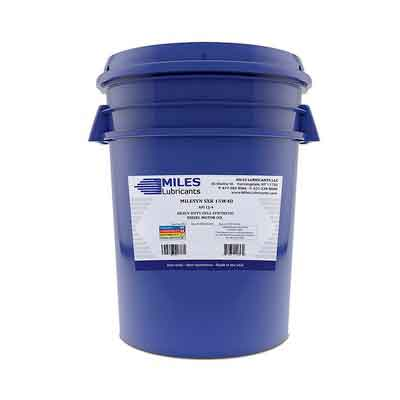 Milesyn SXR 15W40 API CJ-4 Full Synthetic Diesel Motor Oil 5 Gallon Pail