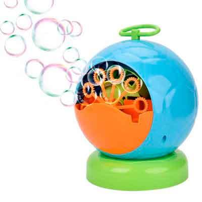 Bubble Machine for Kids Showin Automatic Bubble Blower Durable Bubble Maker