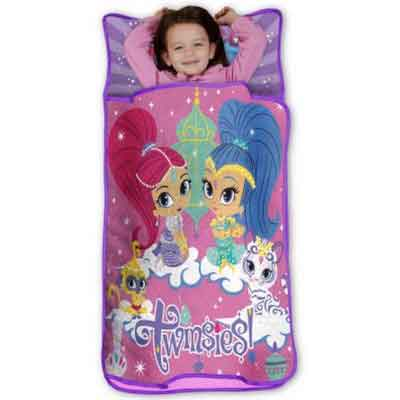 Nickelodeon Shimmer and Shine Toddler Girls Nap Mat