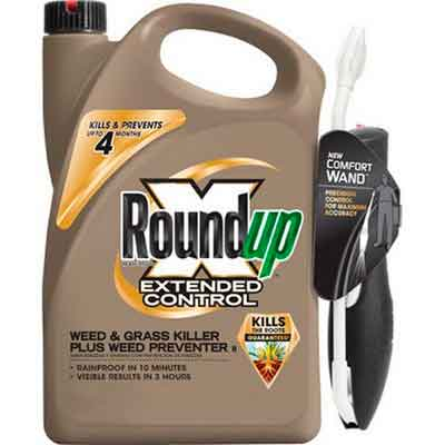 Roundup 5101910 Extended Control Weed and Grass Killer Plus Weed Preventer II Ready-to-Use Comfort Wand Sprayer