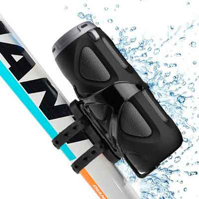 Avantree Portable Bluetooth Bike Speaker with Bicycle Mount & SD Card Slot
