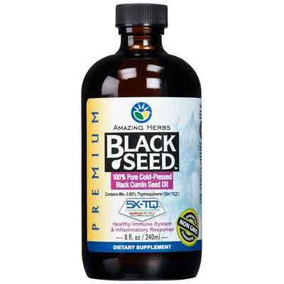 Amazing Herbs Premium Black Seed Oil