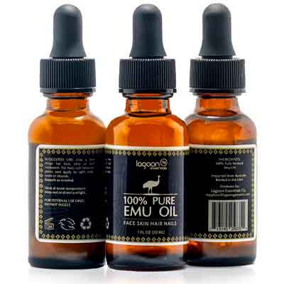 1# Emu Oil Pure 100% From Lagoon Essentials For Hair