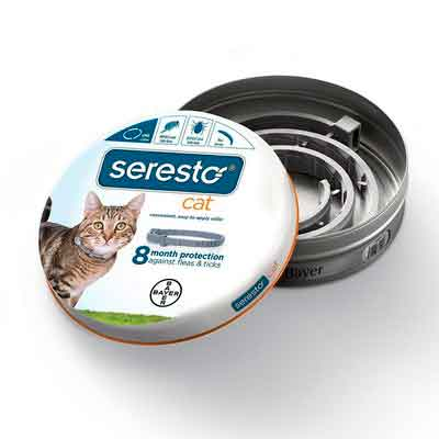 Bayer Seresto Flea and Tick Collar for Cat