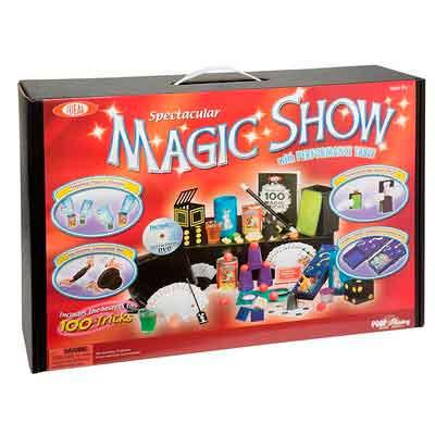 Ideal 100-Trick Spectacular Magic Show Suitcase