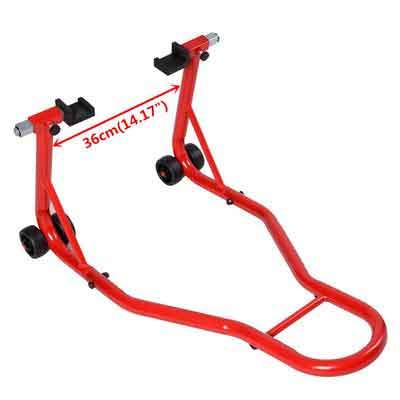 Safstar Motorcycle Stand Sport Bike Rear Forklift Rear Spoolift Paddock Swingarm Lift for Auto Bike Shop