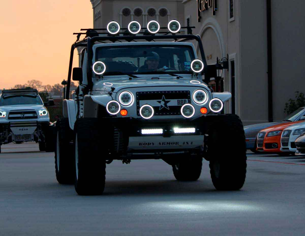 Best Off Roading Lights Nov 2018 Expert Ratings Reviews Light Wiring Kit Additionally Road Likewise Led Bumper And Corner Are The Small But Essential Accents That Tie Your Cars Style Together If Front End Still Looks Frumpy Even After