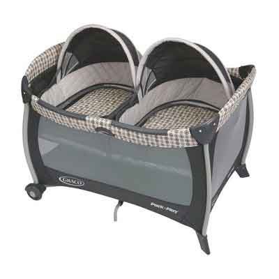 Graco Pack 'n Play Playard with Twins Bassinet