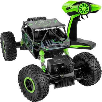 Click N' Play Remote Control Car 4WD Off Road Rock Crawler Vehicle 2.4 GHz