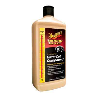 Meguiar's M105 Mirror Glaze Ultra-Cut Compound - 32 oz.