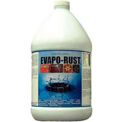 Evapo-rust 4x1 Gallon Case - The Original Safe Industrial Strength Rust Remover