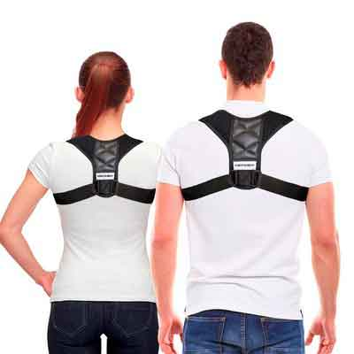 Posture Corrector Clavicle Support Brace Medical Device to Improve Bad Posture